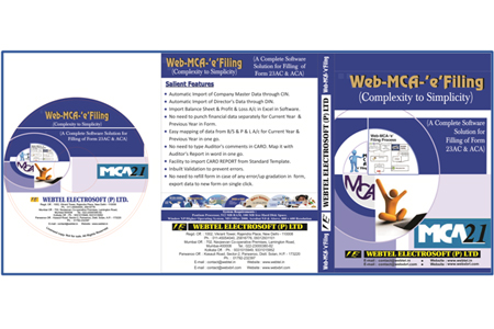 Web MCA-e-filing